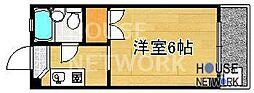 コーポ下鴨13[201号室号室]の間取り