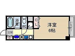 ローズコテージ弐番館[3階]の間取り
