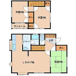 [一戸建] 青森県八戸市南類家1丁目 の賃貸【/】の間取り