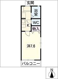 タウンコート桜台[2階]の間取り
