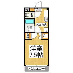 グレースフル芳川A・B[1階]の間取り