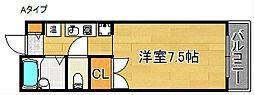 マ・メゾン21[4階]の間取り
