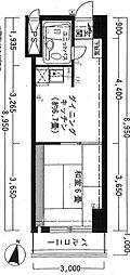 ロジェ札幌25[502号室]の間取り
