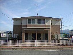 群馬県高崎市吉井町岩崎の賃貸アパートの外観