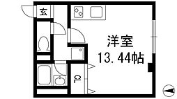 大阪府池田市室町の賃貸マンションの間取り