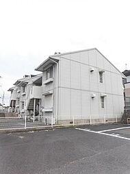 大阪府堺市中区東山の賃貸アパートの外観