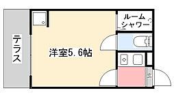千葉県船橋市滝台1丁目の賃貸アパートの間取り
