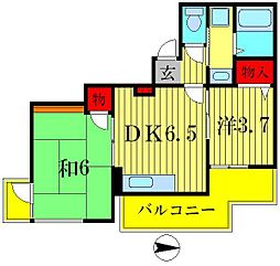 TSビル[6階]の間取り