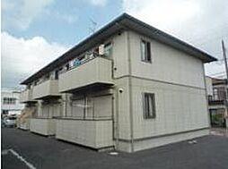 埼玉県川越市寺尾の賃貸アパートの外観