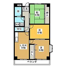 ノーザンピア[2階]の間取り
