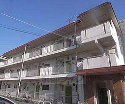 京都府京都市左京区山端大城田町の賃貸アパートの外観