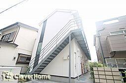 神奈川県大和市中央林間2の賃貸アパートの外観