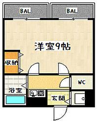 イースター西栄[303号室]の間取り