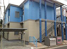 神奈川県横浜市港北区下田町4丁目の賃貸アパートの外観