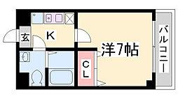 DOIマンション[4階]の間取り