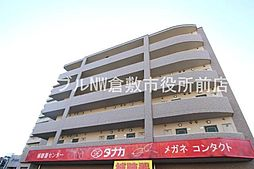 岡山県倉敷市昭和2丁目の賃貸マンションの外観