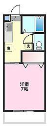 下田ハイツエル[2階]の間取り