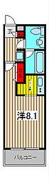 埼玉県さいたま市桜区大字上大久保の賃貸マンションの間取り