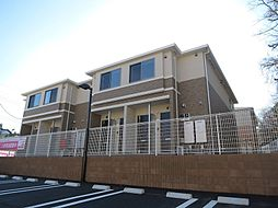 茨城県土浦市小松3丁目の賃貸アパートの外観