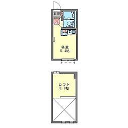 フェリーチェ生田[0103号室]の間取り