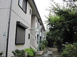 大阪府大阪市阿倍野区共立通2丁目の賃貸アパートの外観
