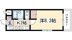 一社駅 3.4万円