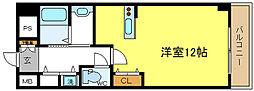 ドムス4[6階]の間取り