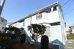 千葉県鎌ケ谷市南佐津間の賃貸アパートの外観
