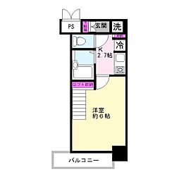 柾木マンションウエスト[4階]の間取り