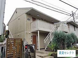 千葉県松戸市常盤平1の賃貸アパートの外観