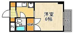 ロード[204号室]の間取り