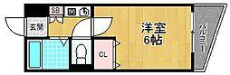 ベルパレス[3階]の間取り