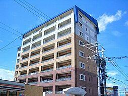 福岡県糟屋郡粕屋町大字柚須の賃貸マンションの外観