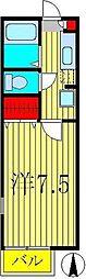 コーポヤマザキ[2階]の間取り