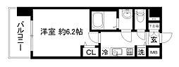 プレサンス京都鴨川[6階]の間取り