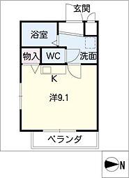 Sun・Up・Royal浄水Ⅱ[1階]の間取り
