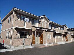 徳島県板野郡藍住町矢上字安任の賃貸アパートの外観