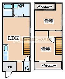[一戸建] 大阪府堺市西区鳳北町8丁 の賃貸【/】の間取り