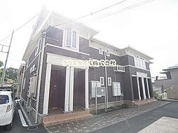 神奈川県伊勢原市岡崎の賃貸アパートの外観