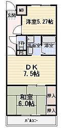 ジョイライフ14[4階]の間取り