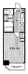 エルニシア横浜蒔田[9階]の間取り