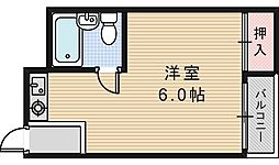 マンションサンローズ[3階]の間取り