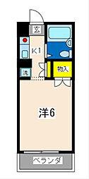 ガーデンヒルズ横浜[403号室]の間取り