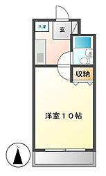 第七和興ビル[2階]の間取り