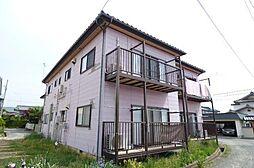 長野県長野市篠ノ井御幣川の賃貸アパートの外観
