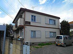 東京都昭島市中神町1丁目の賃貸アパートの外観
