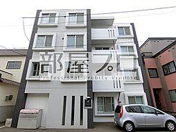 北海道札幌市中央区北七条西17丁目の賃貸マンションの外観
