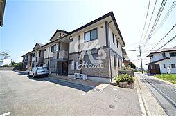 兵庫県神戸市垂水区五色山3丁目の賃貸アパートの外観