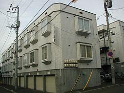 北海道札幌市南区澄川五条3丁目の賃貸アパートの外観