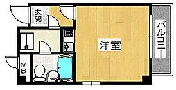プレアール櫛屋町[4階]の間取り
